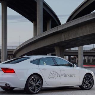Audi A7 Sportback h-tron concept 2014.