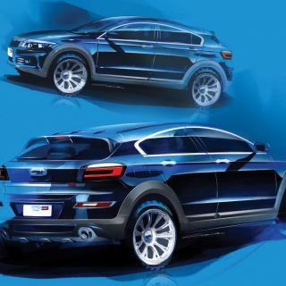 Qoros visar konceptet 3 City SUV 20 november. Produktionsbilen ska finnas på kinesiska marknaden nästa år.