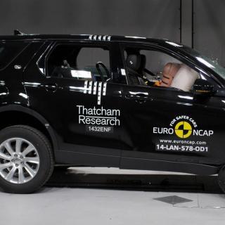 Land Rover Discovery Sport fick fina betyg i EuroNCAP:s senaste krocktest.