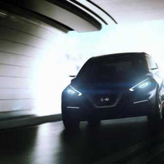 Nissan visar konceptbilen Sway på Géneve-salongen i mars.