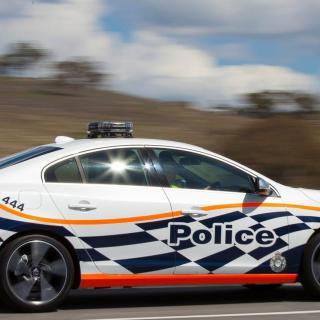 Volvo S60 Polestar är en av bilarna som testas av den federala polisen i Australien.