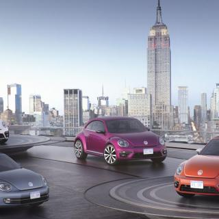 Volkswagen visar fyra nya bubblor i New York.