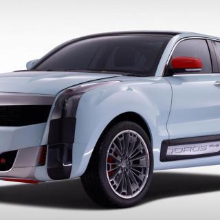 Qoros 2 SUV PHEV kan bli en modell i samma klass som exempelvis Nissan Juke.