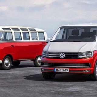 Volkswagens Transporter-modell har tillverkats i 12 miljoner exemplar sedan 1950.