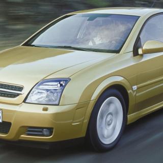 Oljetörstig Opel Vectra.