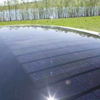 Toyota Prius var tidig med solceller.