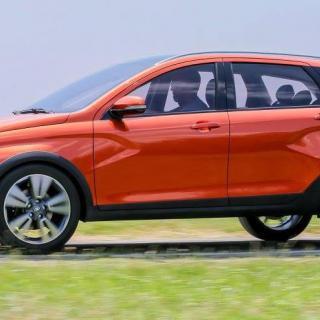 Lada Vesta Cross concept.