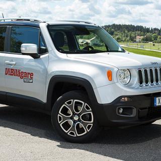 Vare sig dörrar eller baklucka har rostskyddats inuti på Jeep Renegade.