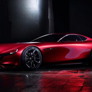 Konceptet Mazda RX-Vision.