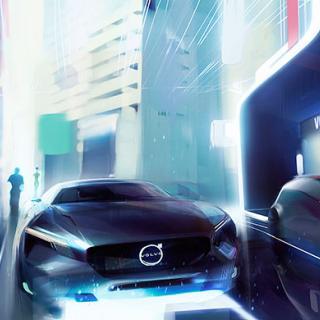 Volvo Cars presenterar sin vision av en elektrisk framtid.