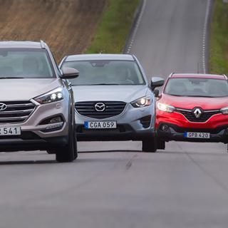 Uppdaterade Renault Kadjar – rapport från provkörningen