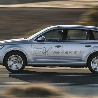 Audi Q7 digitaliseras och mildras