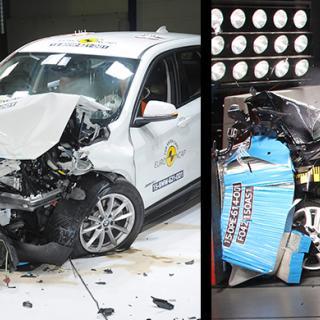 15 bilar från varierande klasser testades i senaste omgången av Euro NCAP.