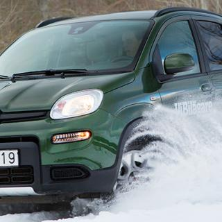 Det går inte att få autobroms i efterhand på en Fiat Panda 2014.