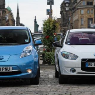 Renault-Nissan och Dongfeng bygger elbilar