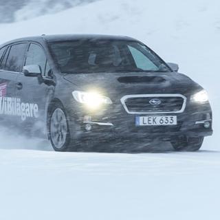 Subaru Levorg hamnade på första plats i 2016 års vinterbilstest av långteststallet.