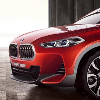 BMW visar kamouflerad X2