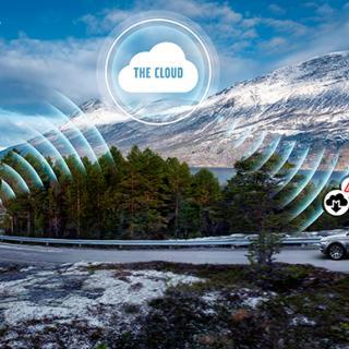 Molnbaserad tjänst gör att Volvobilar kan larma varandra om faror längs vägen.