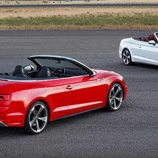 Audi A5 och S5 Cabriolet 2017.