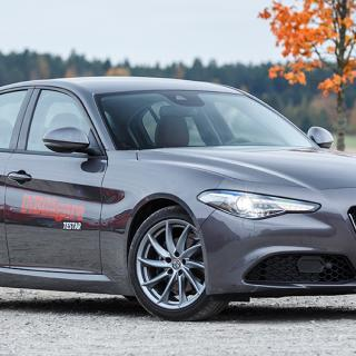 Då kommer Alfa Romeo Giulia