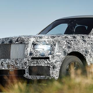 Rolls-Royce Cullinan gör pampig entré
