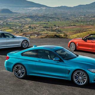BMW:s 4-serie finns som två- eller fyradörras coupé samt tvådörrars cabriolet.