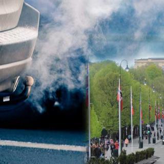 Det kalla vädret kombinerat med stillastående luft har ökat luftföroreningarna i Oslo.