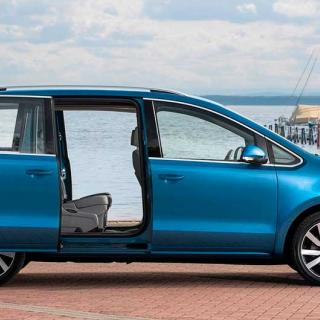 Frågeställaren undrar om Volkswagens 1,4 TSI-motor som bland annat finns i familjebussen Sharan.