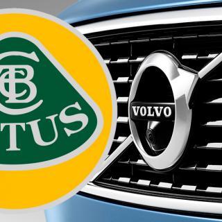 Volvo och Lotus blir styvsyskon