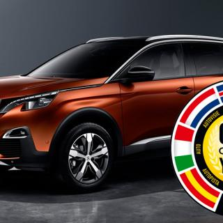 Vinnaren i Årets Bil 2017: Peugeot 3008.