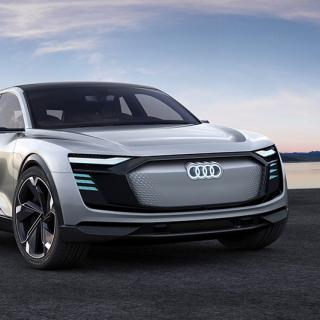 Audi e-tron Sportback Concept.