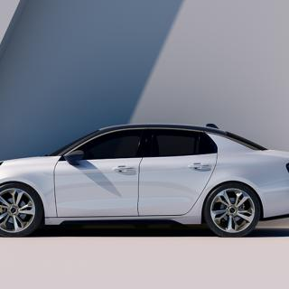 Volvos första elbil görs i Kina