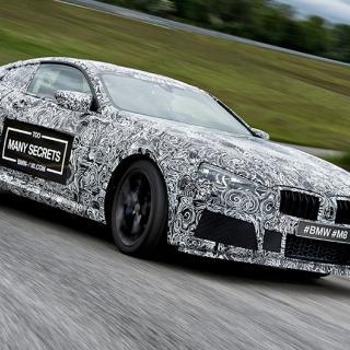 8-serie Gran Coupé bredaste BMW-baken