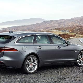 Provkörning: Jaguar XF Sportbrake (2017)