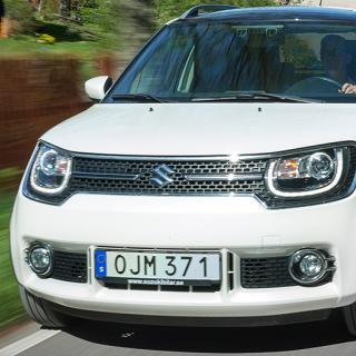 Suzuki Ignis slutar säljas i Sverige
