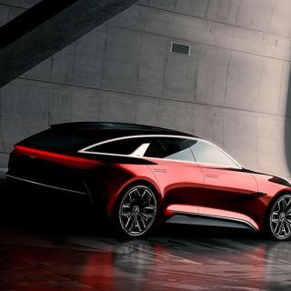Shooting Brake-kaross kombinerat med sportiga arvet från Pro Cee'd i Kias konceptbil.
