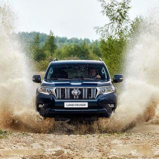 Provkörning: Hummer H3, Toyota Land Cruiser, Isuzu D-Max, Volvo XC70