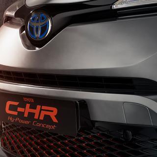 Toyota visar Hy-Power Concept