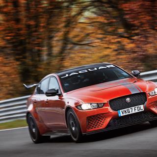 07:21:23 lyder nya rekordtiden runt Nürburgring, satt av Jaguar XE SV Project 8.