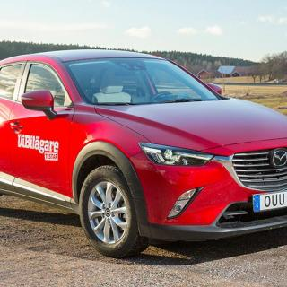 Rosttest: Mazda CX-3 (2017)