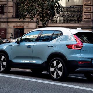 Volvos minsting XC40 utrustas med sladd.