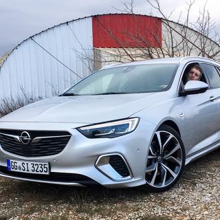 Provkörning: Opel Insignia GSi (2018)