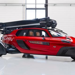 Aston Martin utvecklar flygande bil