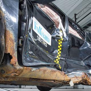 Trots rejäla rostangrepp och därmed också sämre krocksäkerhet var de exemplar av Mazda6 som testades godkända av besiktningsföretag.