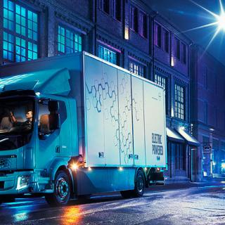 Elektrisk sopbil från Volvo