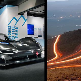 Volkswagens elbil satte nytt rekord uppför Pikes Peak