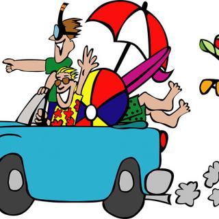 Håll koll på surfplattan på bilsemestern