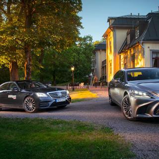 Lexus LS 500h väljer mjukare linje
