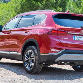 Provkörning: Hyundai Santa Fe (2016)
