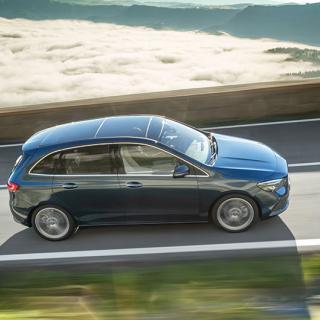 Provkörning: Mercedes B170 NGT